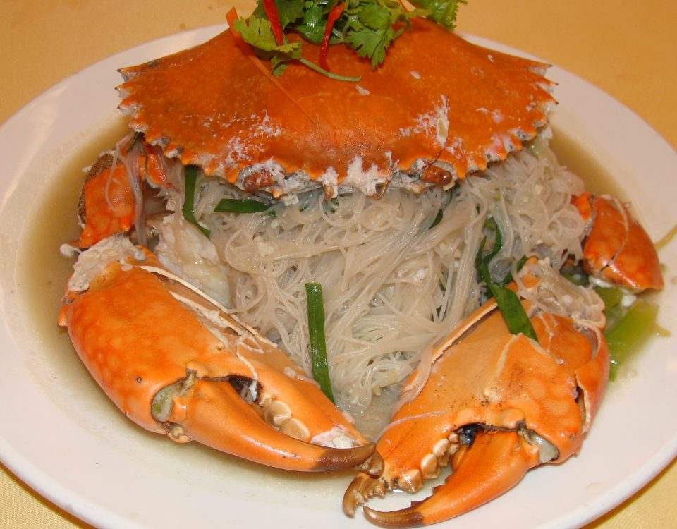 Braised Bee Hoon Crab